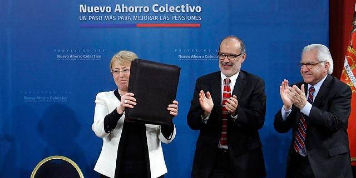 """Bachelet y reforma a las pensiones: """"Lo que prometieron hace 40 años no era cierto"""""""
