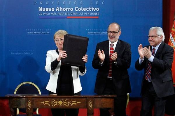 Bachelet pensiones