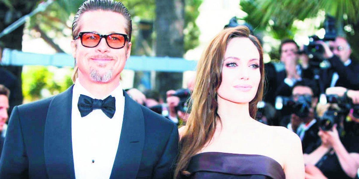 Brad Pitt y Angelina Jolie pararon su proceso de divorcio