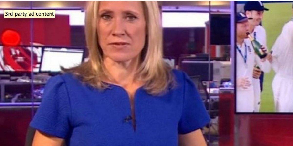 VIDEO. BBC News emite escena porno en plena transmisión de su noticiero