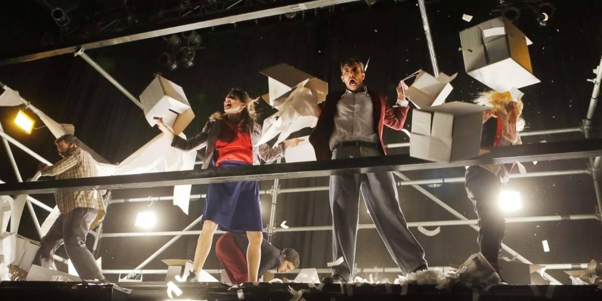 Espectáculo Fuerza Bruta vuelve a Bogotá