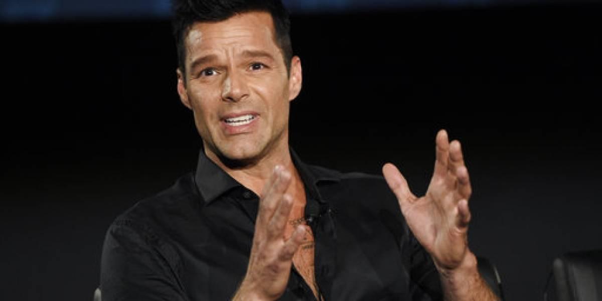 Ricky Martin agradece el apoyo brindado a su fundación