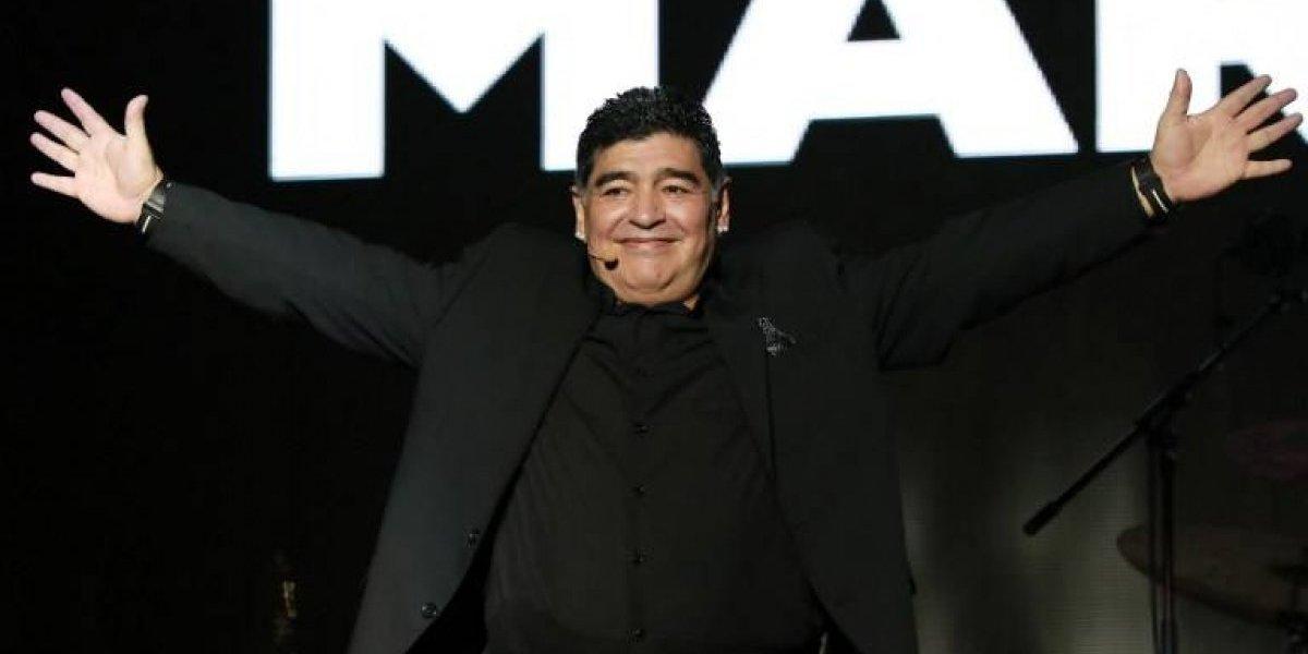 """Diego Maradona reafirma su apoyo a Maduro y le dice """"traidor"""" a Cepriles"""