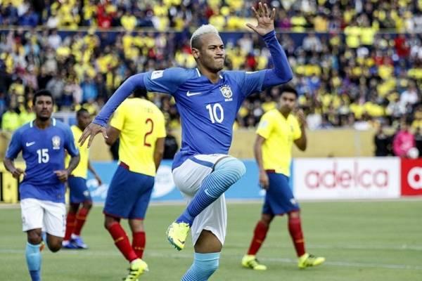 Brasil y su lista de convocados para enfrentar a Ecuador