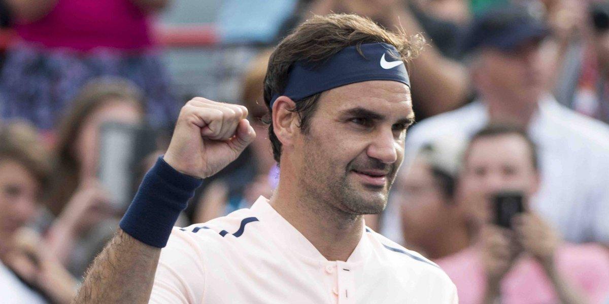 Federer supera a David Ferrer en 3 sets