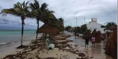 Franklin deja niño herido y 648 evacuados en su paso por Veracruz