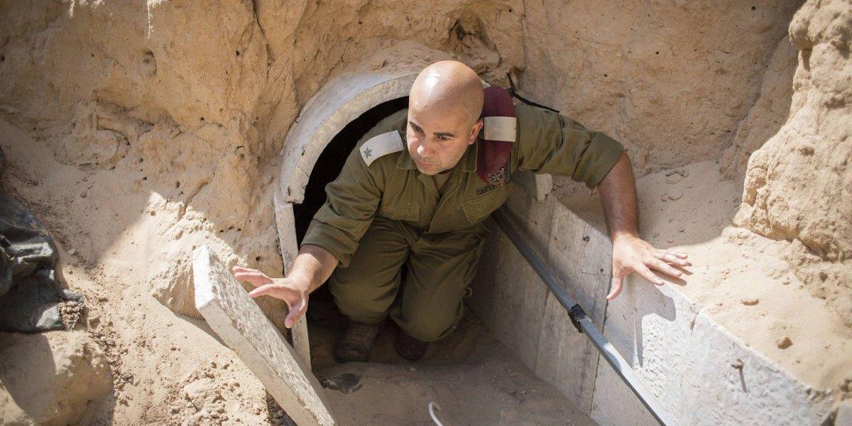 Israel construye una muro subterráneo con Gaza frente a túneles palestinos