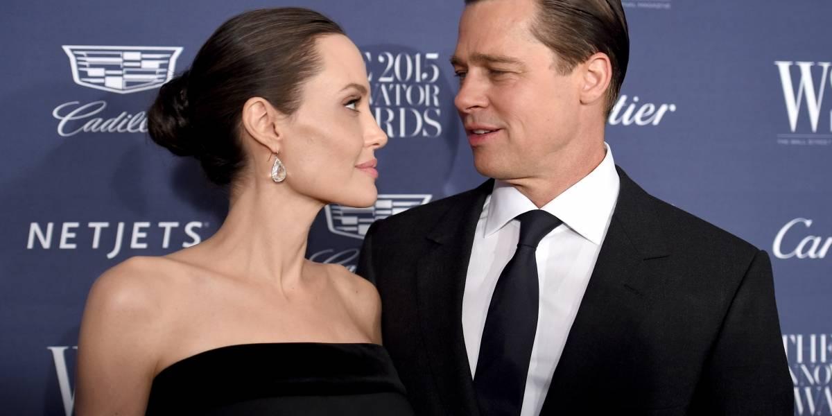 Angelina Jolie detiene proceso de divorcio con Brad Pitt