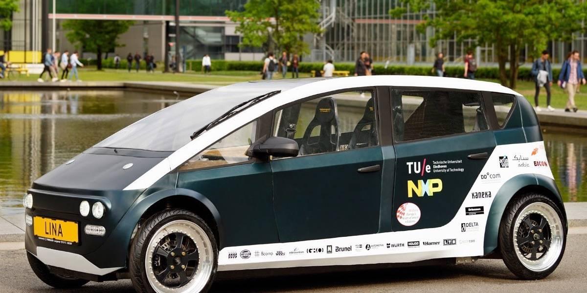 En Holanda construyen el primer auto biodegradable del mundo