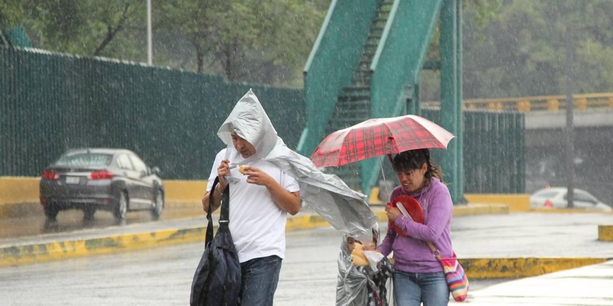 CDMX amanece con lluvias atípicas por tormenta tropical Franklin