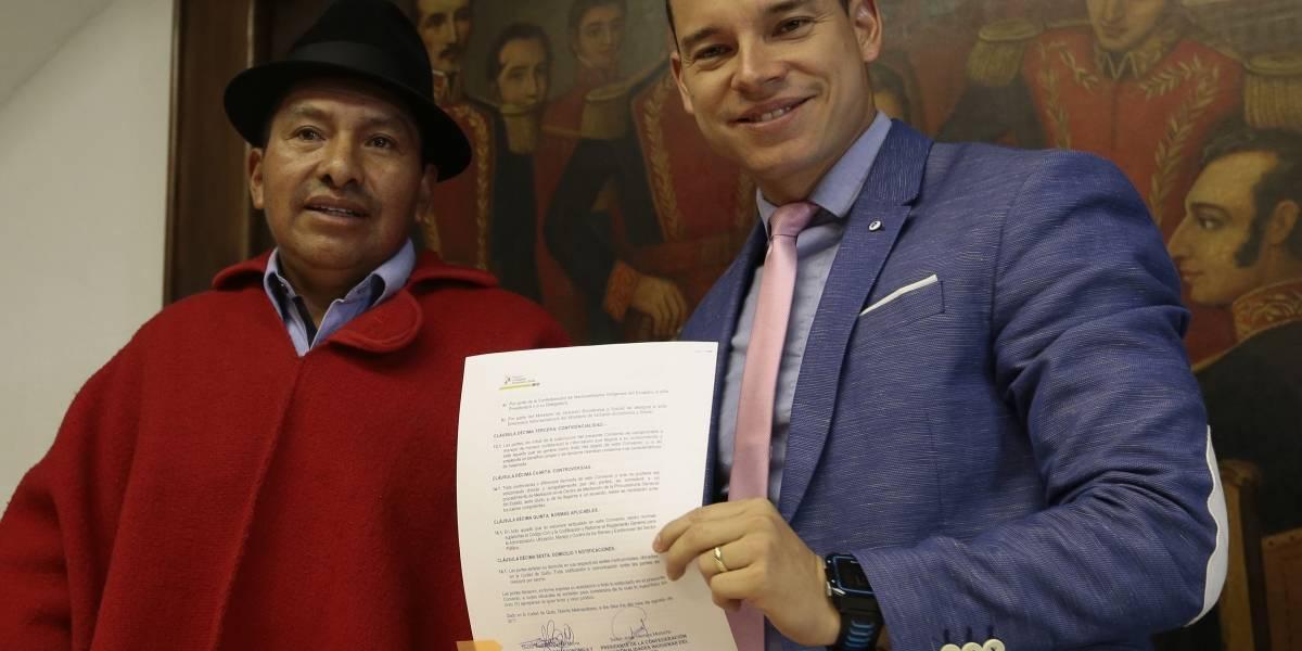 Iván Espinel reacciona a comunicado de Alianza PAIS