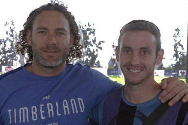 Gabriel Milito y Fernando Elizari
