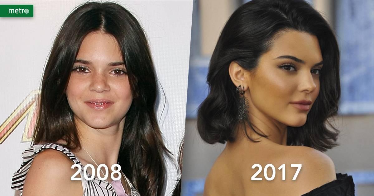 Quando o show começou, Kendall tinha apenas 11 anos. Na última década, ela cresceu e conquistou seu próprio lugar ao sol com sua carreira de modelo. Ela realiza trabalhos frequentes para grifes como Chanel e Balmain e já estampou a capa das principais revistas de moda do mundo.   Reprodução/Noel Vasquez/Getty Images