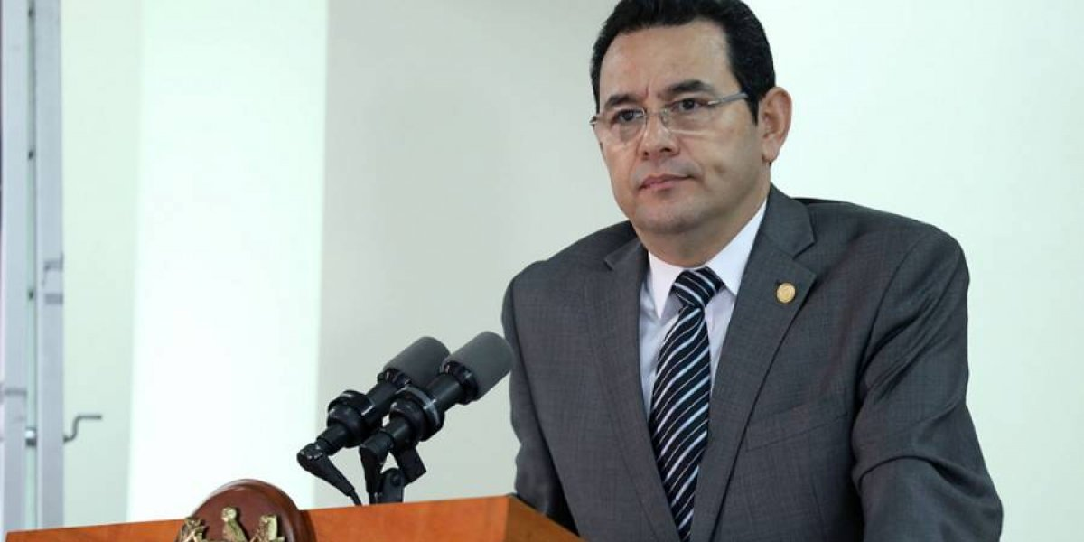 Morales dice que MP y la CICIG lo dejaron solo en el caso TCQ