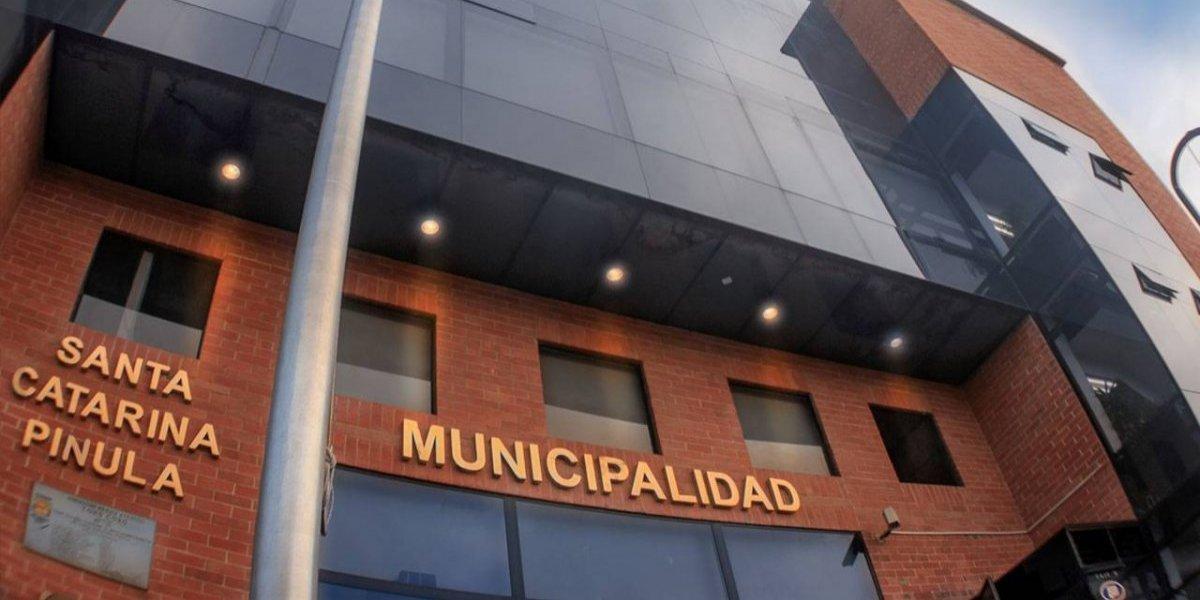 MP y PNC allanan sede de la municipalidad de Santa Catarina Pinula