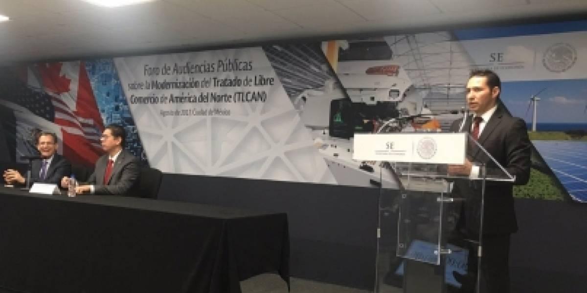 SE inicia foro de audiencias públicas para escuchar opiniones sobre TLCAN