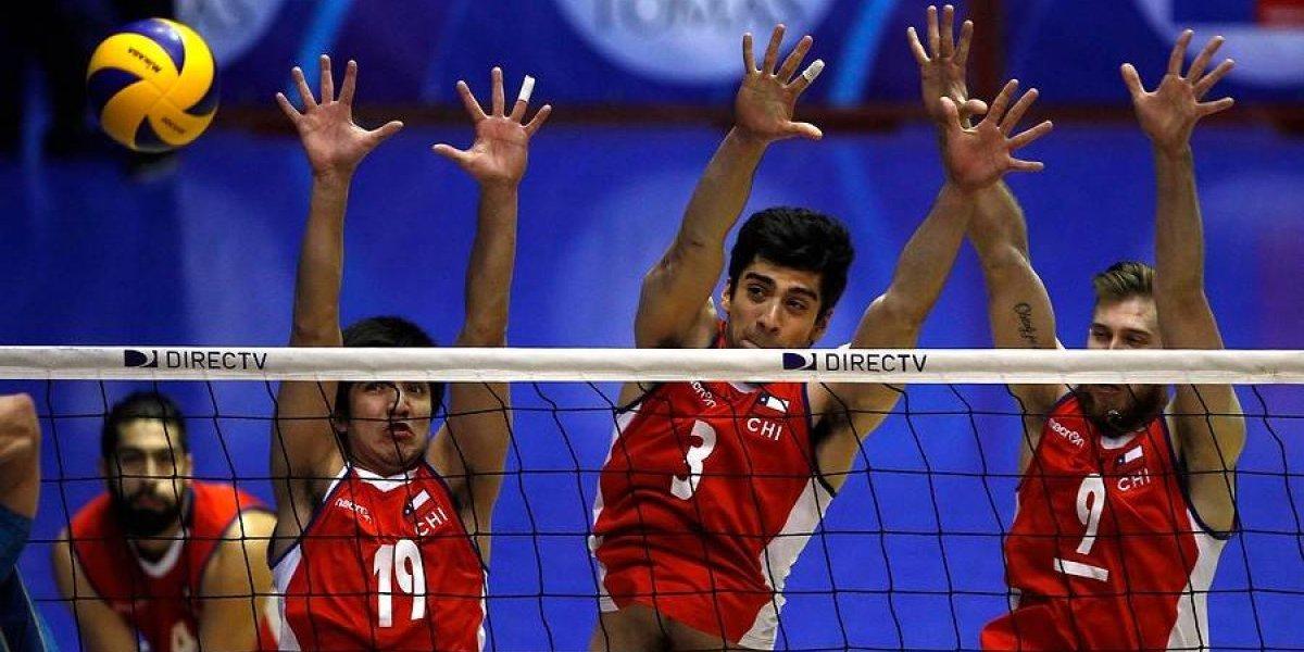 Así vivimos la caída de Chile ante Brasil en la semifinal del Sudamericano de vóleibol