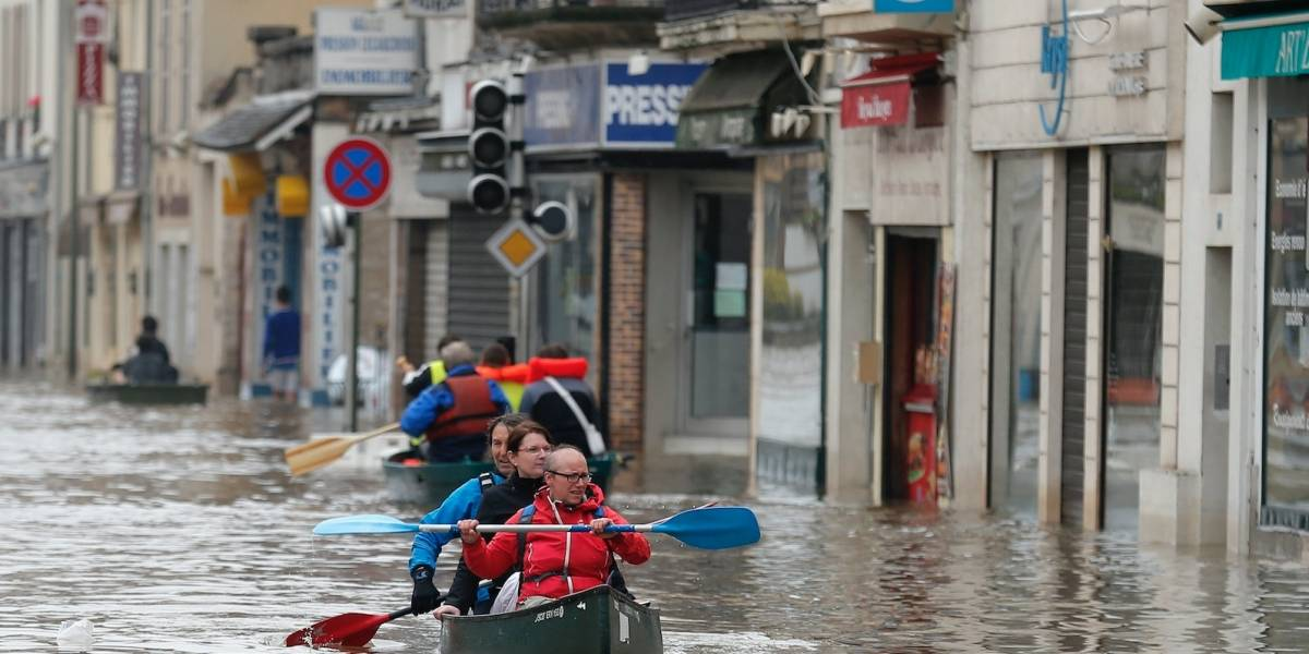 Ríos de Europa son afectados por cambio climático