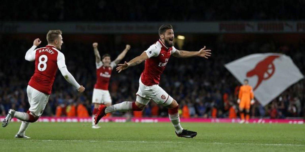 Arsenal no necesitó de Alexis para llevarse un valioso triunfo en su debut en la Premier