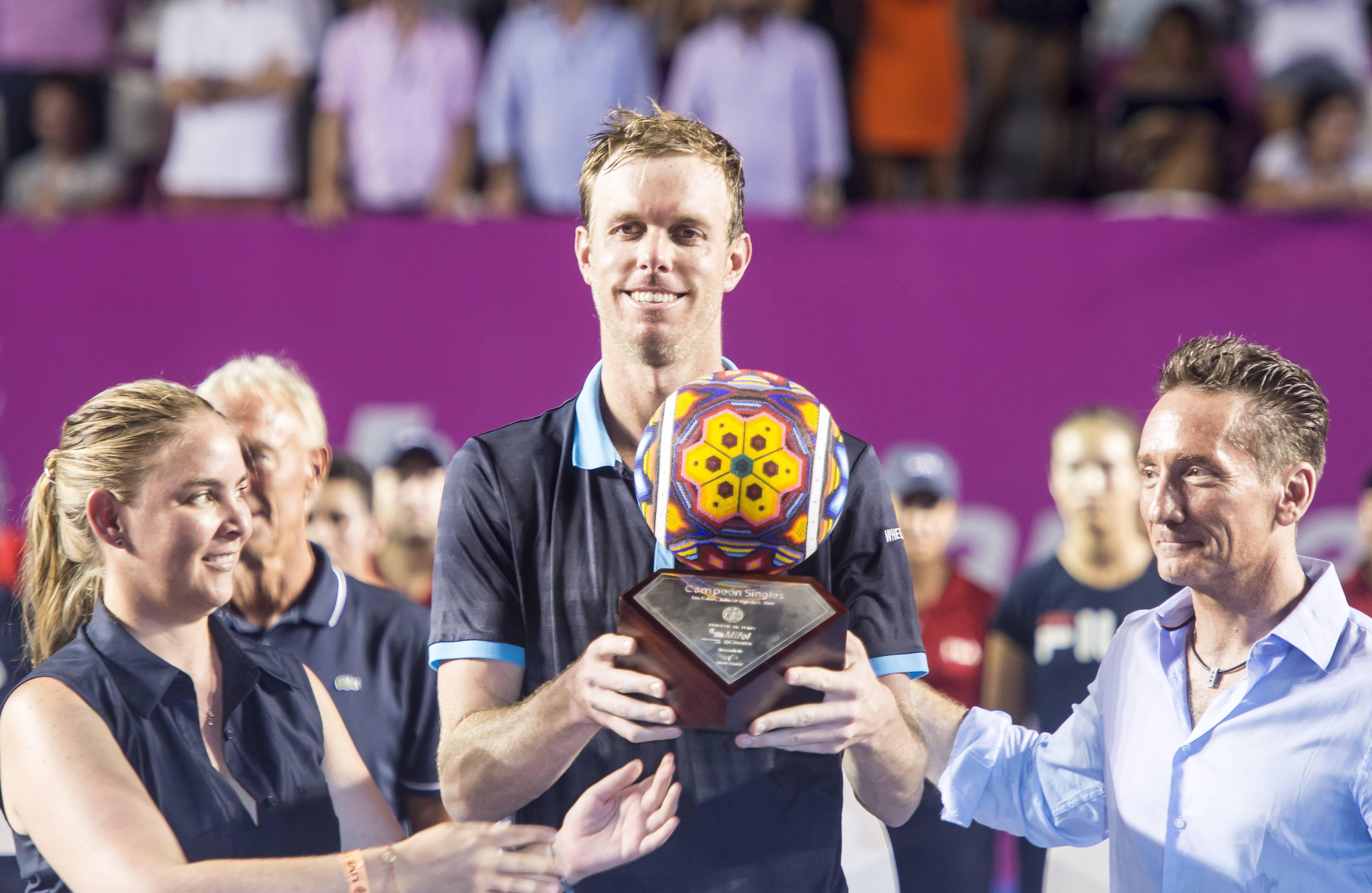 El estadounidense Sam Querrey ganó el Abierto Los Cabos 2017 JDS