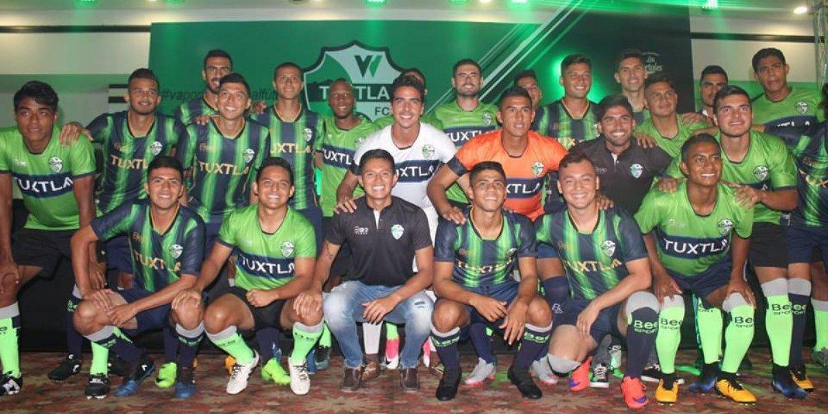 VIDEO: Presentan Tuxtla FC, el nuevo equipo de Chiapas