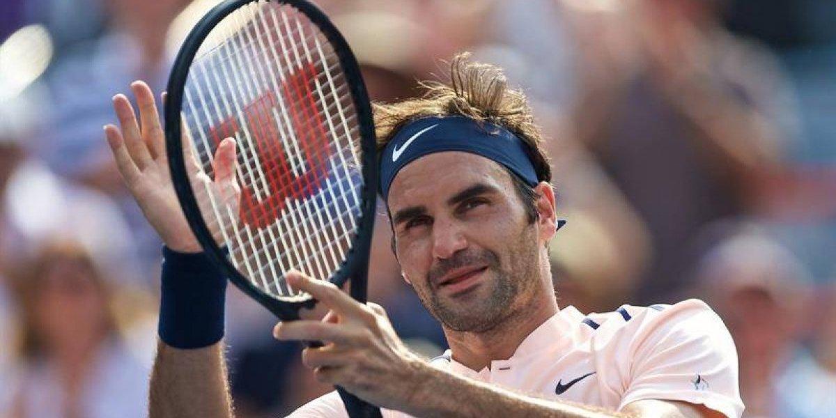 Roger Federer avanzó sin problemas a las semifinales del Masters 1000 de Montreal