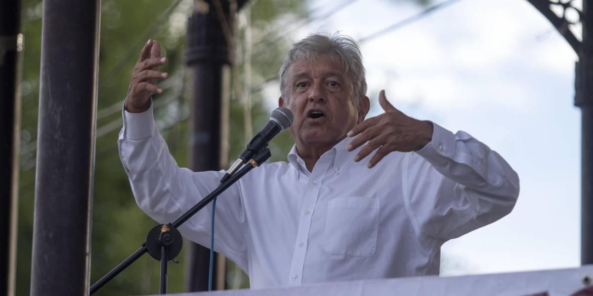 AMLO ganaría la presidencia en 2018 hasta con 43%: encuesta