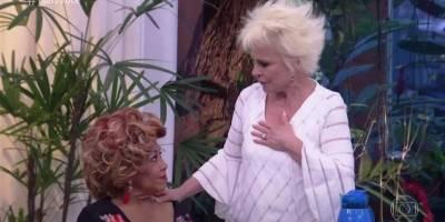 Ana Maria Braga chora ao receber Alcione no 'Mais Você'