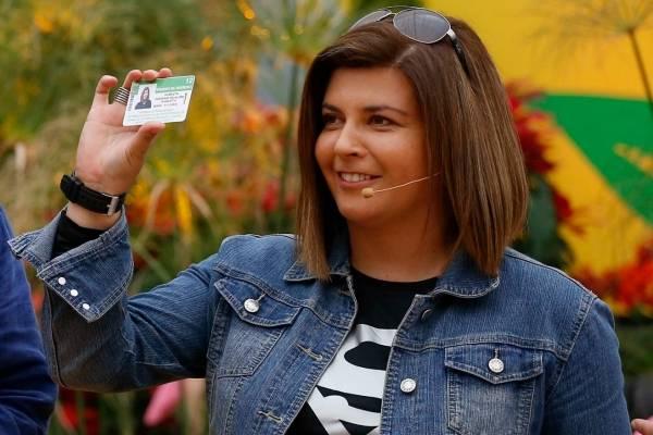 Scarleth Cárdenas en Bienvenidos
