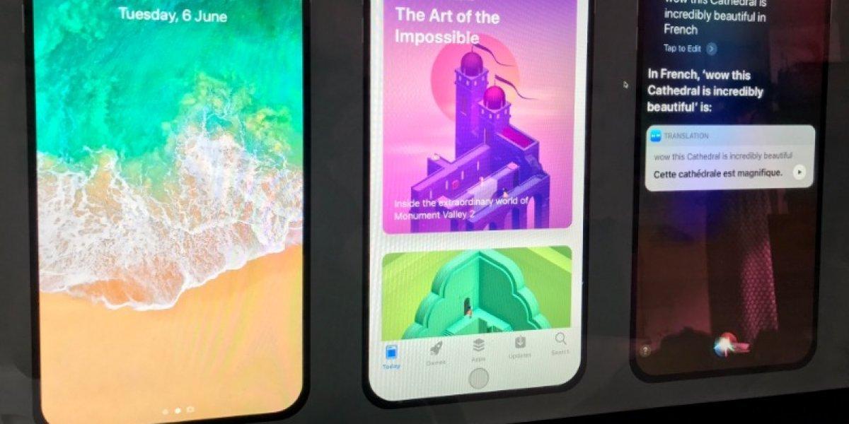 Botón de inicio del iPhone 8 cambiará de tamaño