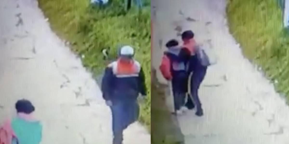 Video: Este pervertido se disfraza de celador para abusar de menores