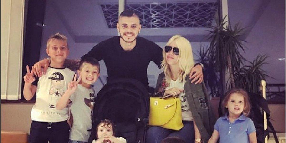 La increíble reacción del hijo de la esposa de Icardi al ser nominado a la selección argentina