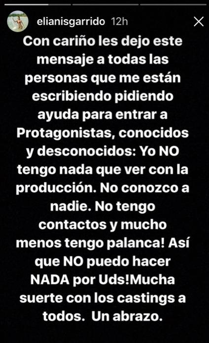 Instagram Elianis Garrido