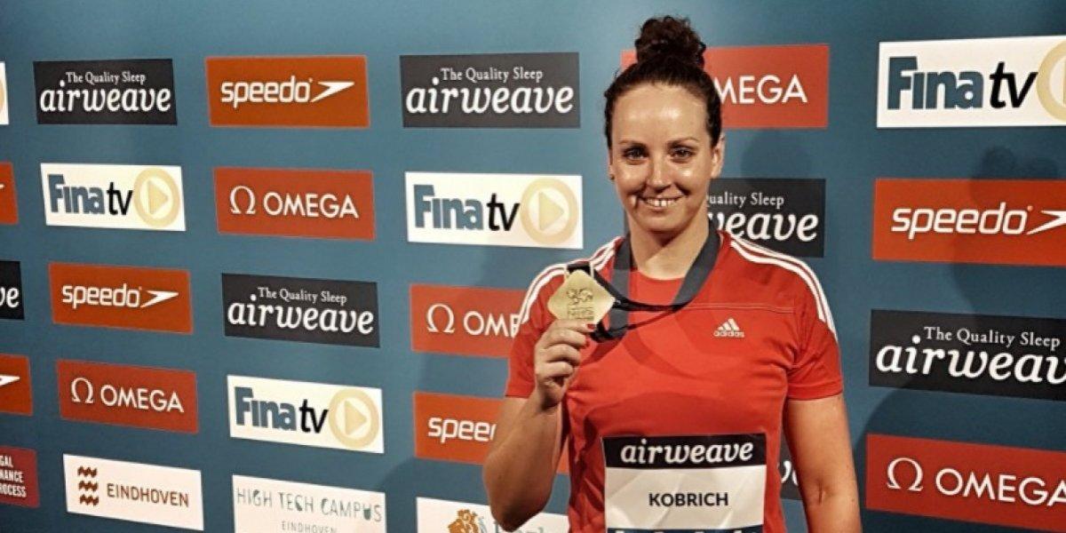 Kristel Köbrich sumó nueva medalla en la Copa del Mundo de natación