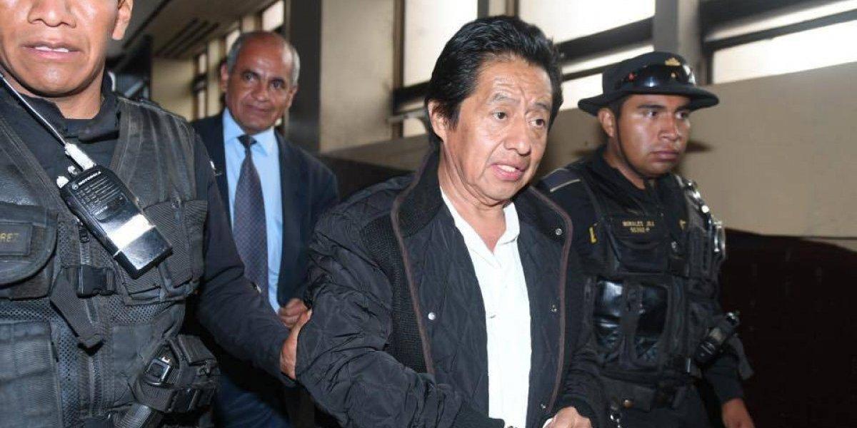 Envían a exministro de Cultura Carlos Batzín a la cárcel Mariscal Zavala