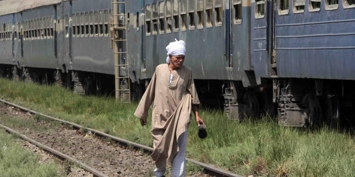 Choque de trenes en Egipto causa al menos 20 muertos