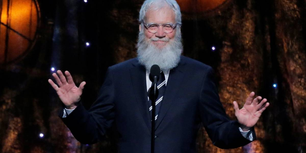 David Letterman retoma carreira em talk show na Netflix