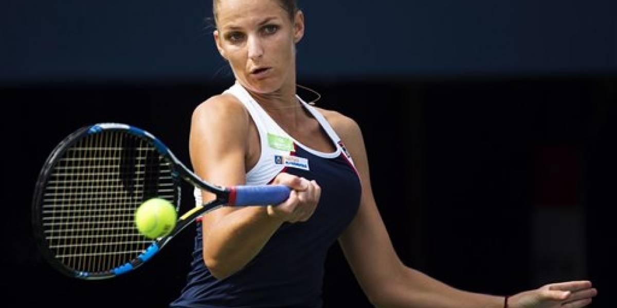 Karolina Pliskova avanza en Toronto