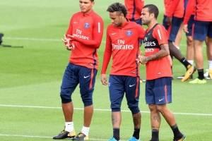 Neymar entrena con el PSG