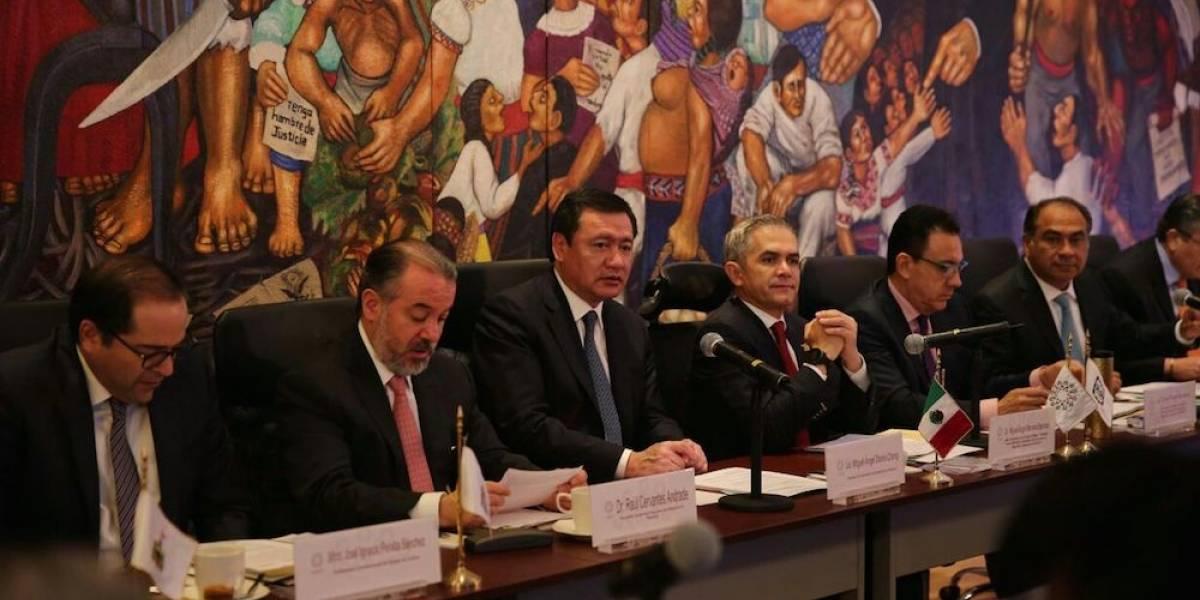 Conago, Segob, CNDH y PGR acuerdan mejorar el Nuevo Sistema de Justicia Penal