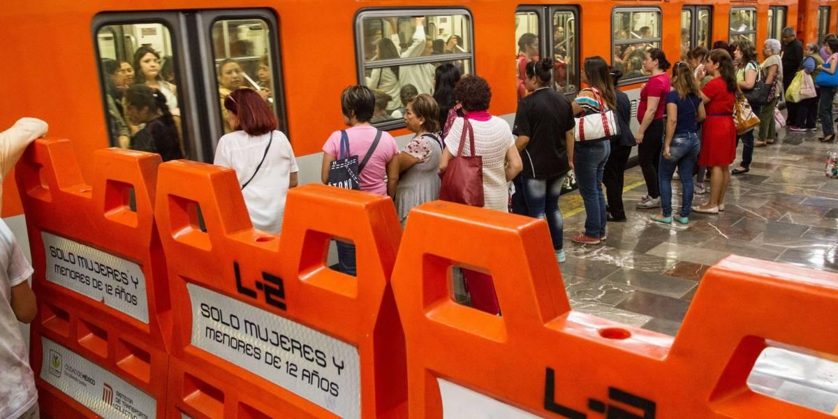 Cambia la ubicación de los vagones para mujeres en el Metro
