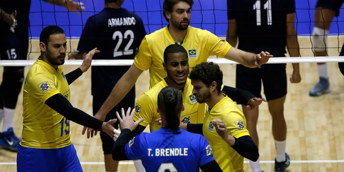 Brasil vapuleó a Venezuela y se coronó campeón del Sudamericano de vóleibol