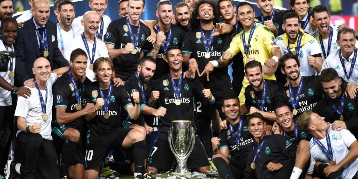 Real Madrid Madrid tiene un título más que el Barsa en el siglo XXI