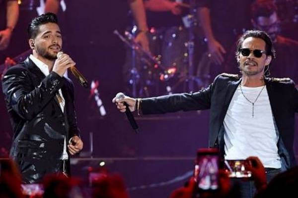 Maluma y Marc Anthony enloquecen a los fans con nuevo video