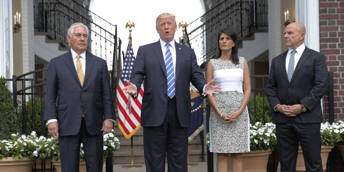 Trump no descarta una intervención militar en Venezuela
