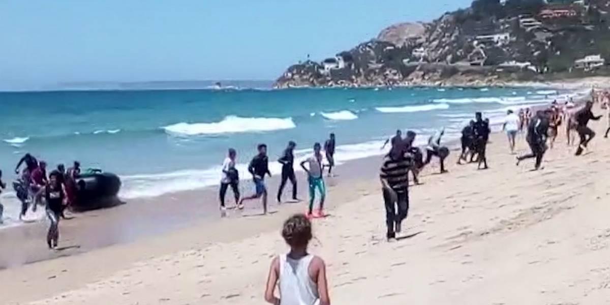 Se dispara cantidad de migrantes que llegan a España en botes