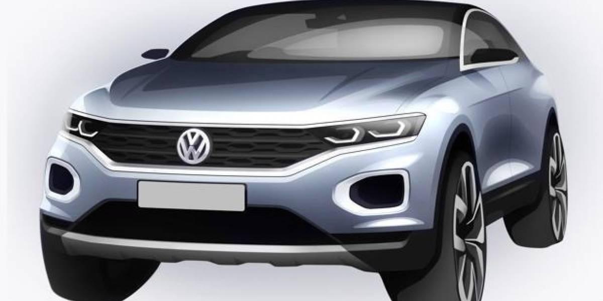 """El Volkswagen T-Roc se adelanta y """"revela"""" su diseño"""