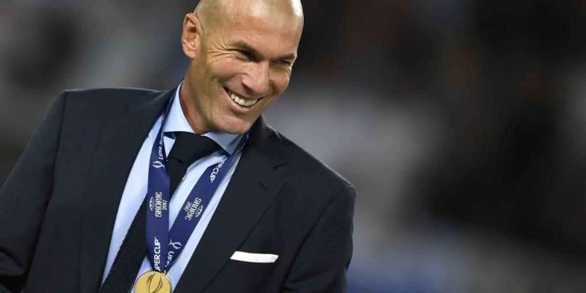 Zinedine Zidane reconoció que renovará por tres temporadas más con el Real Madrid