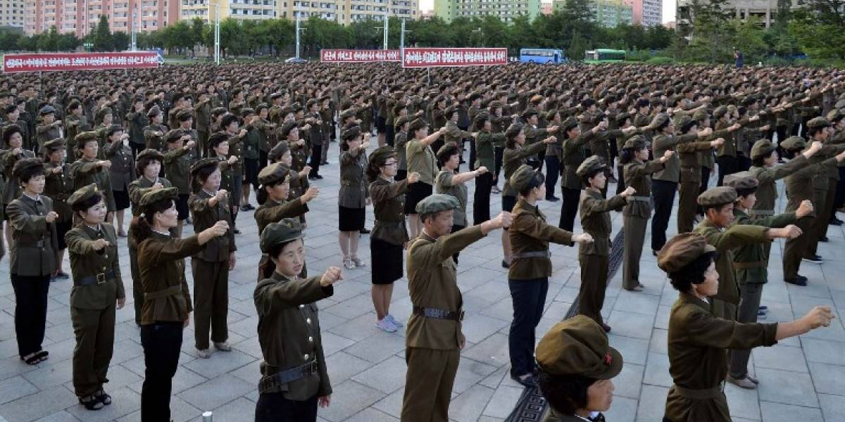 Escenario de máxima tensión: Corea del Norte moviliza a su pueblo mientras China pide contención a EEUU