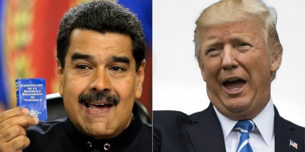 Maduro pidió hablar por teléfono y Trump le rechazó la llamada